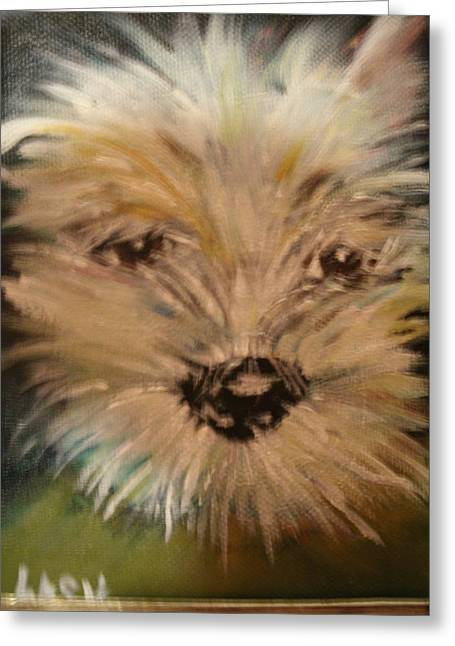 Bischon Greeting Cards -  Love Greeting Card by Terry Lash