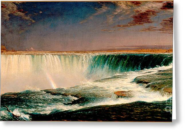 Frederick Greeting Cards -  Niagara Greeting Card by Celestial Images