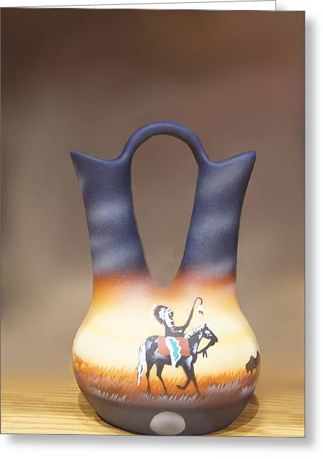Clay Jug Greeting Card by Art Spectrum