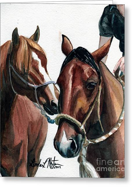 Ft Collins Greeting Cards -  Overlapping Greeting Card by Linda L Martin