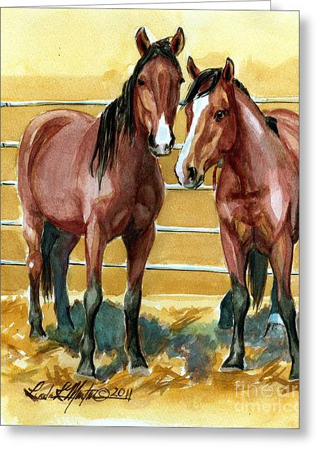 Fort Collins Greeting Cards -  Pick Up Day Greeting Card by Linda L Martin