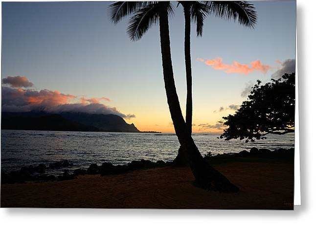 Ocean Photography Greeting Cards -  Remembering Hanalei Greeting Card by Kathy Yates