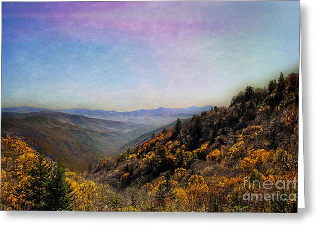 Gatlinburg Tennessee Greeting Cards -  Renowned Beauty Greeting Card by Tom Gari Gallery-Three-Photography
