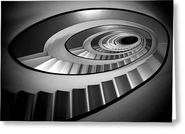Staircase Greeting Cards - @ Greeting Card by Stefano Rapino