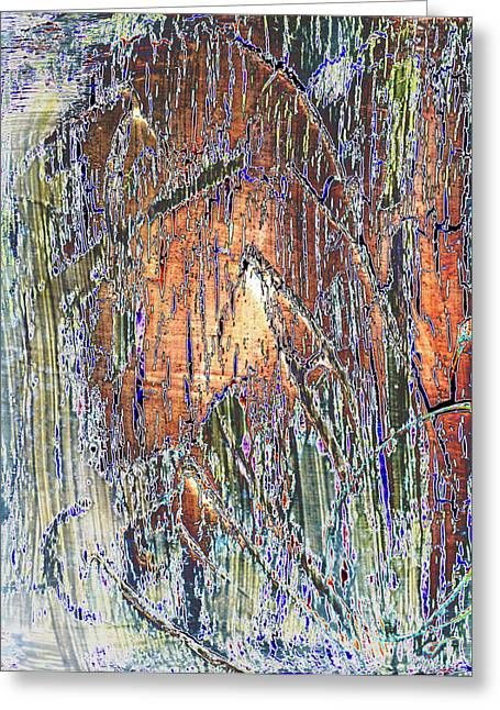 Digitally Altered Greeting Cards -  Storm 2 Greeting Card by Wayne Potrafka