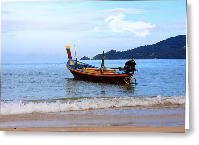 Thailand Greeting Card by Mark Ashkenazi