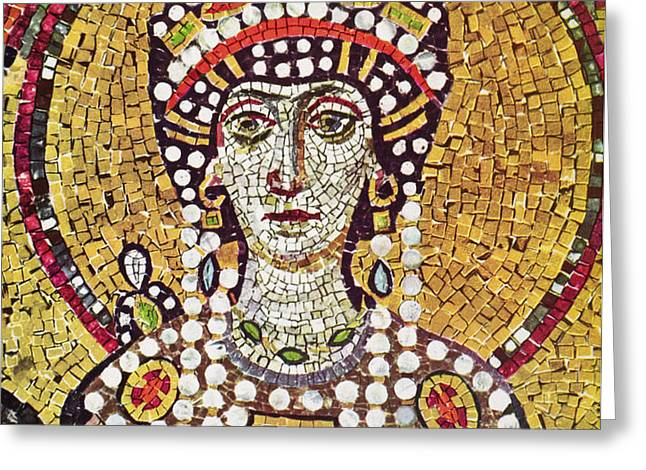 THEODORA (c508-548) Greeting Card by Granger
