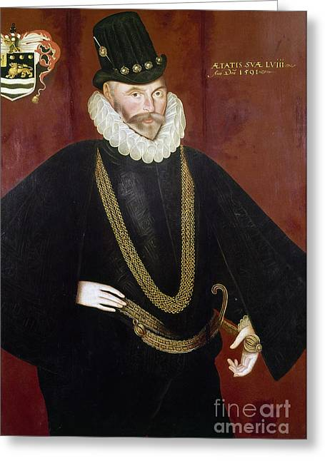 Hawkins Greeting Cards - Sir John Hawkins Greeting Card by Granger