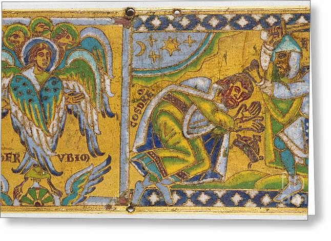 Khosrau Ii Greeting Cards - HERACLIUS (c575-641 A.D.) Greeting Card by Granger