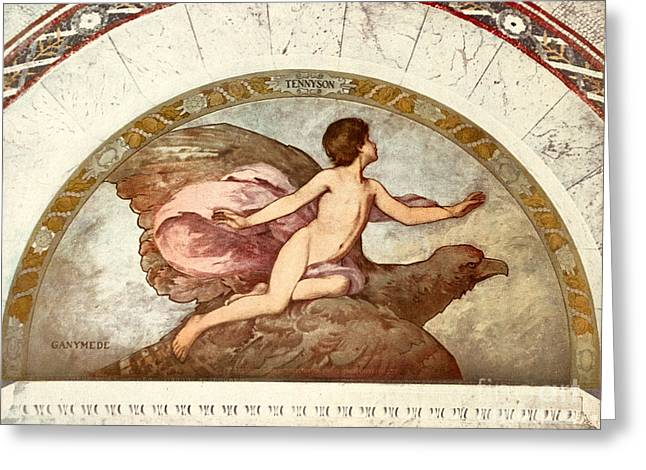 1901 Greeting Cards - GANYMEDE, c1901 Greeting Card by Granger