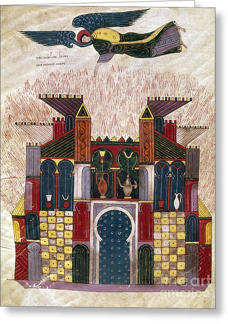 Babylon Paintings Greeting Cards - Facundus Beatus, 1047 Greeting Card by Granger