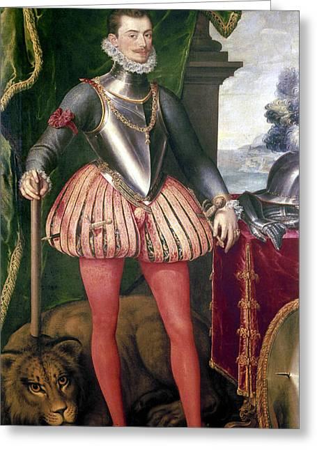 Pantaloons Greeting Cards - John Of Austria (1547-1578) Greeting Card by Granger