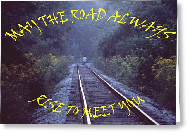Mike Davis - Micks Pix Photos Greeting Cards - 031307-66hrfb  Good Wishes Card Greeting Card by Mike Davis - Micks Pix Photos