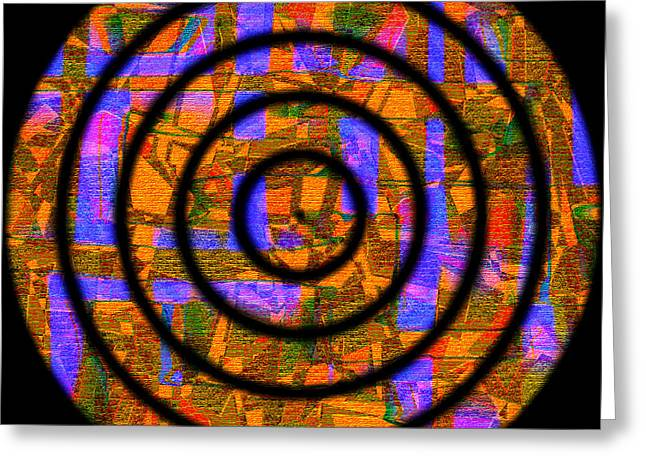Modern Digital Art Digital Art Greeting Cards - 0626 Abstract Thought Greeting Card by Chowdary V Arikatla