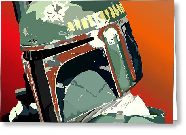 067. He's No Good To Me Dead Greeting Card by Tam Hazlewood
