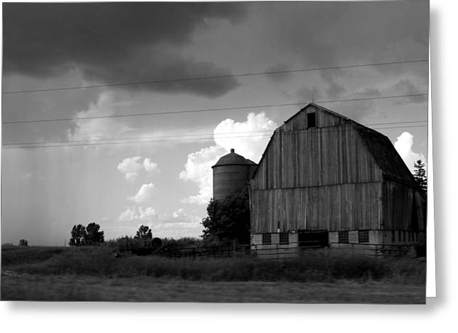 Barns Greeting Cards - 08016 Greeting Card by Jeffrey Freund