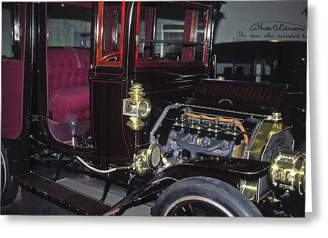Ford Model T Car Greeting Cards - 1919 Ford Model-T Greeting Card by Sally Weigand