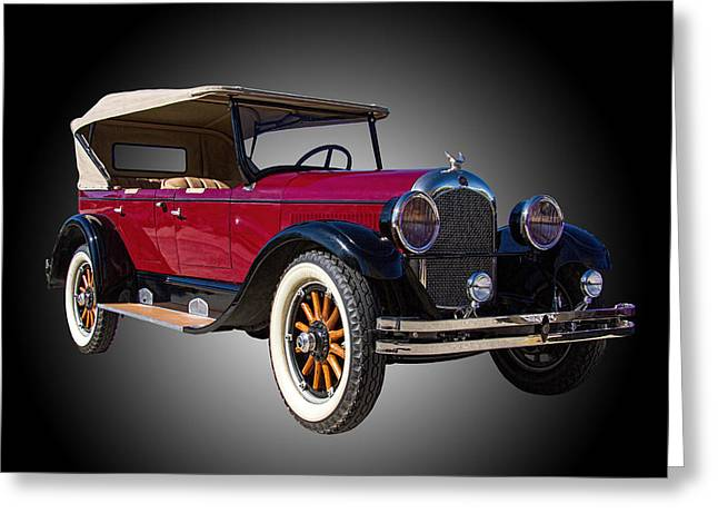 Astro Images Greeting Cards - 1926 Chrysler Phaeton Greeting Card by Nick Gray