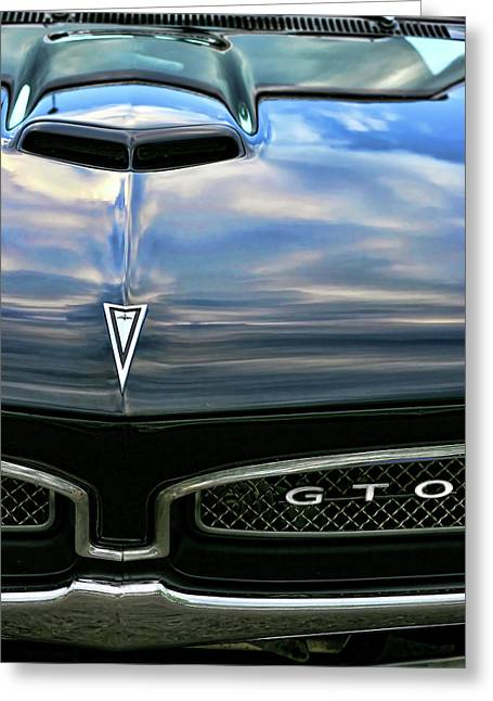 Gratiot Digital Greeting Cards - 1967 Pontiac GTO Greeting Card by Gordon Dean II