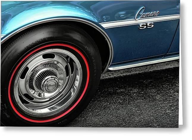 1960-1969 Greeting Cards - 1968 Chevy Camaro SS 396 Greeting Card by Gordon Dean II
