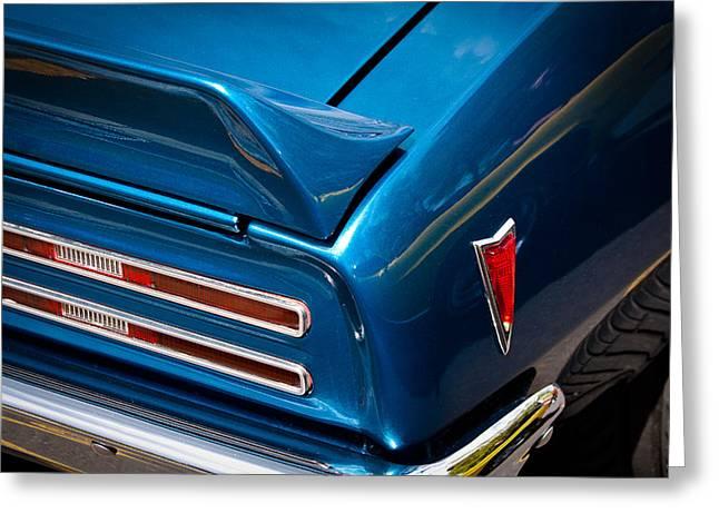 68 Greeting Cards - 1968 Pontiac Firebird Greeting Card by David Patterson