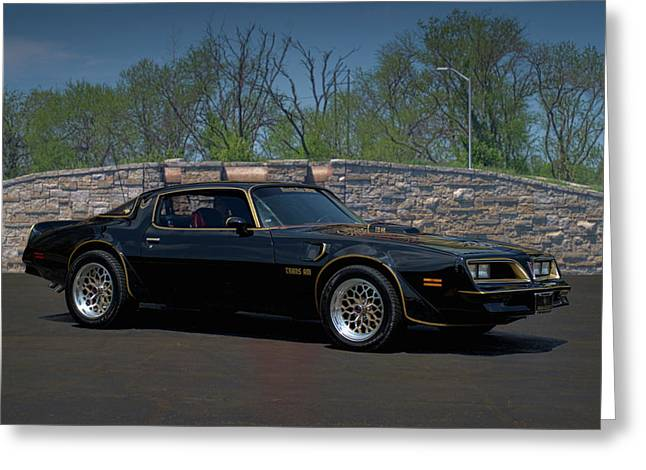 Teemack Greeting Cards - 1978 Pontiac Trans Am Greeting Card by Tim McCullough
