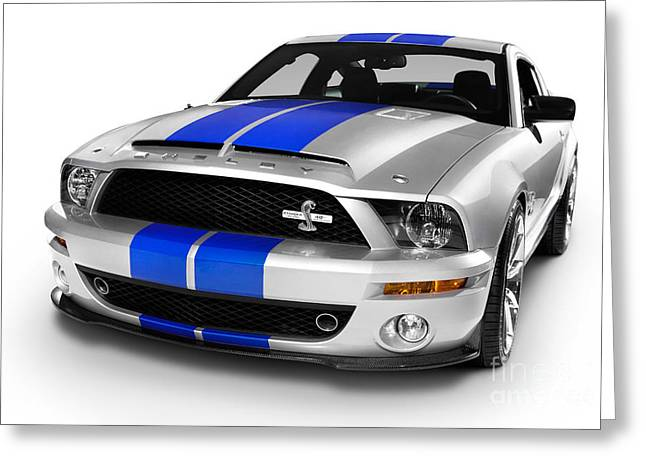 2008 Shelby Ford Gt500kr Greeting Card by Oleksiy Maksymenko