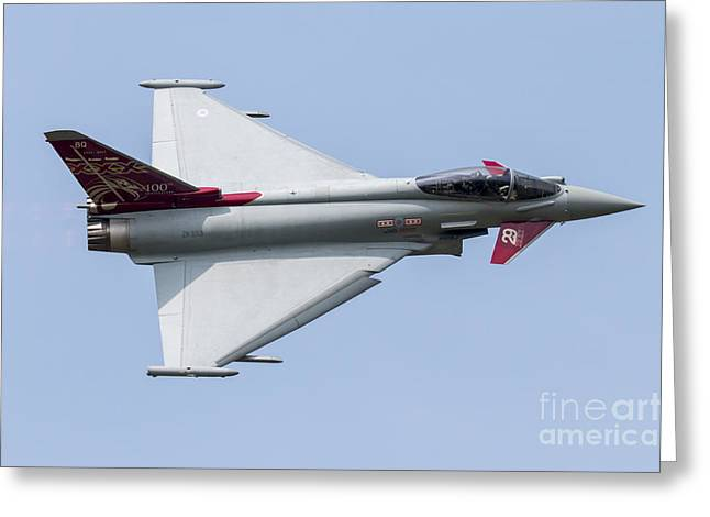 Triple Tail Greeting Cards - 2015 Display Typhoon Greeting Card by J Biggadike