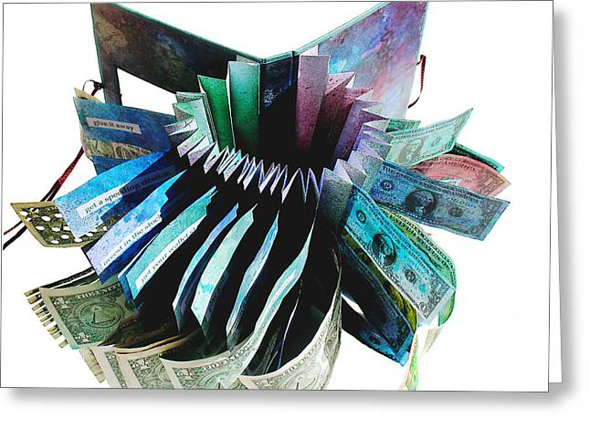 36 Ways To Lose Money Greeting Card by Annie Alexander