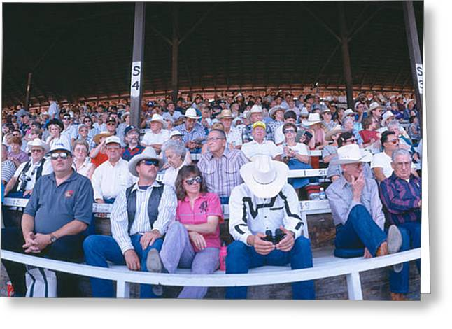 Pastimes Greeting Cards - 75th Ellensburg Rodeo, Labor Day Greeting Card by Panoramic Images