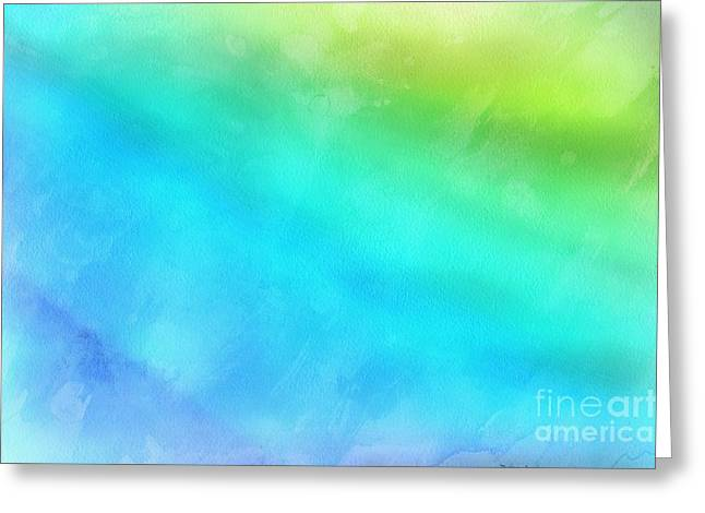 Abstract Digital Photographs Greeting Cards - A New Beginning Greeting Card by Krissy Katsimbras