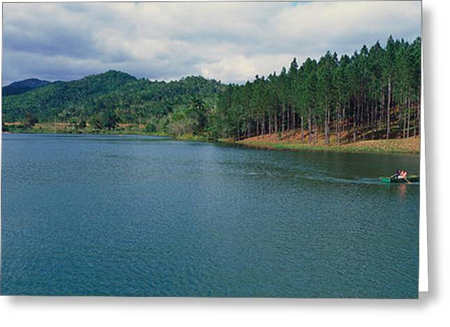 Del Rio Greeting Cards - A Panoramic View Of Las Terrazas Greeting Card by Panoramic Images