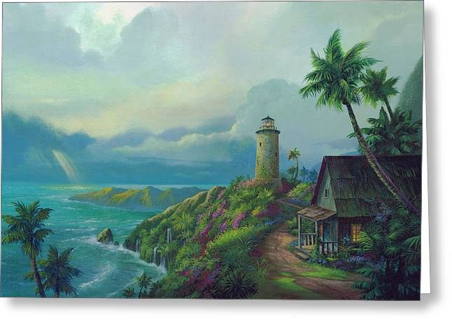 Shack Greeting Cards - A Small Patch of Heaven Greeting Card by Michael Humphries