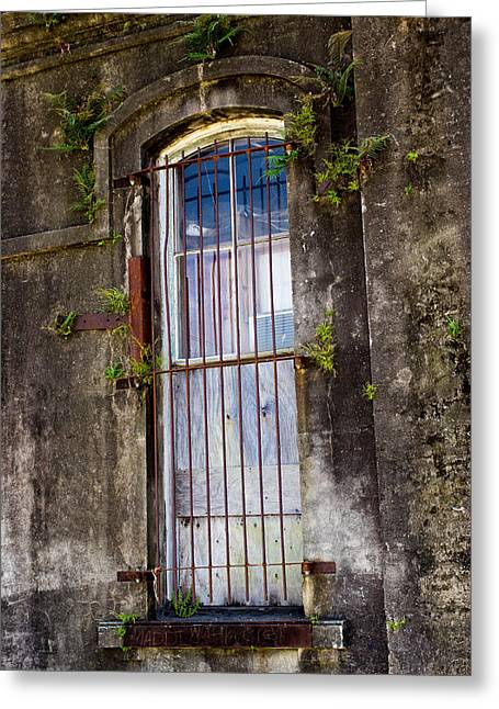 Abandoned #1 Greeting Card by Jenn Evans