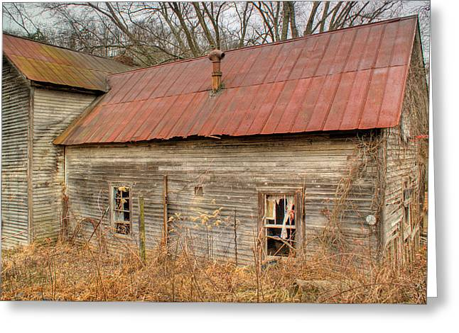 West Fork Greeting Cards - Abandoned Farmhouse in Kentucky Greeting Card by Douglas Barnett