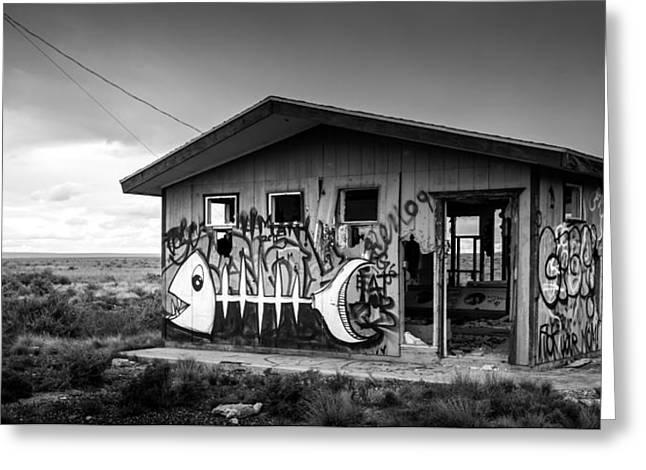 Abandoned Places Greeting Card by Jon Manjeot