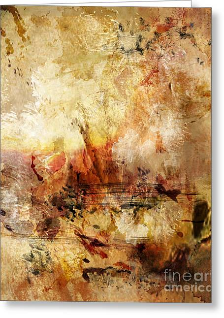 Abstract 132 Greeting Card by Angelina Cornidez