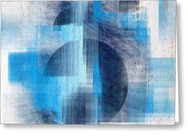 Abstract 14 Greeting Card by Art Spectrum