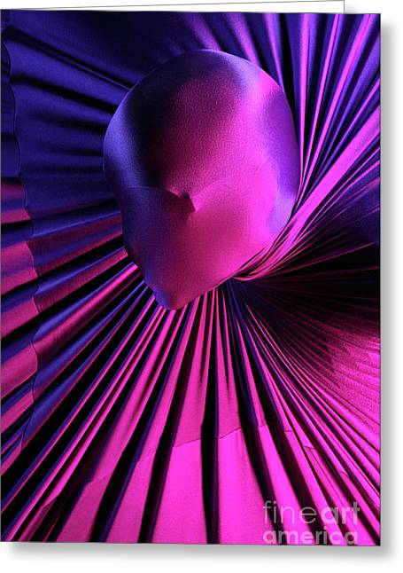 Imprisonment Greeting Cards - Abstract Human Head Greeting Card by Oleksiy Maksymenko
