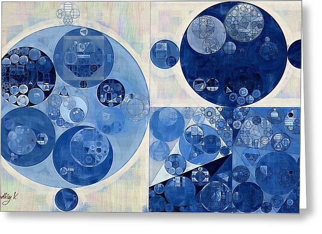 Abstract Painting - Geyser Greeting Card by Vitaliy Gladkiy