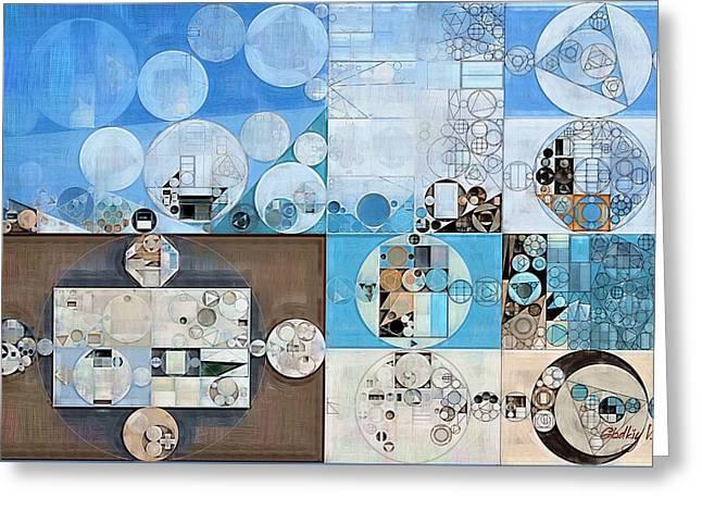 Abstract Painting - Heavy Metal Greeting Card by Vitaliy Gladkiy
