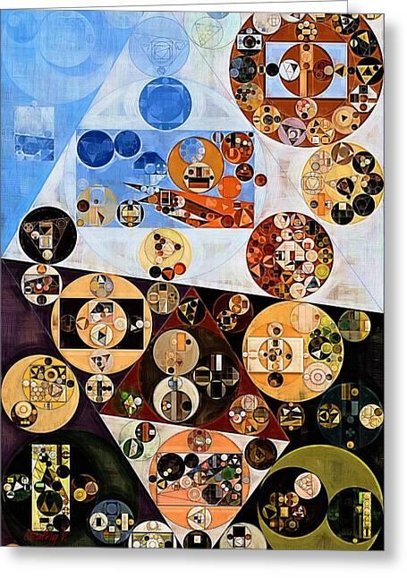 Abstract Painting - Marigold Greeting Card by Vitaliy Gladkiy