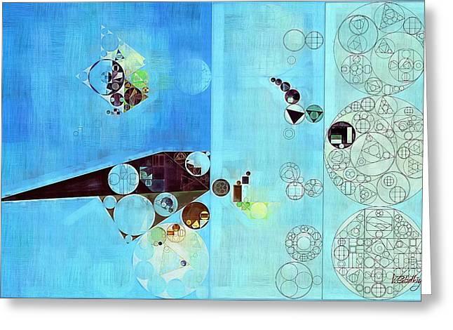 Abstract Painting - Viking Greeting Card by Vitaliy Gladkiy
