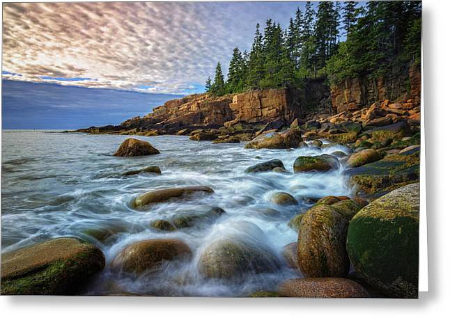 Acadia Greeting Card by Rick Berk
