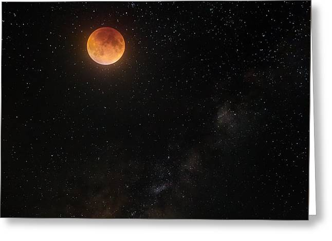 Across The Universe Greeting Card by Bill Wakeley