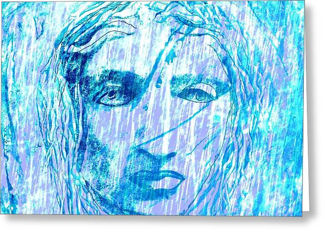 Statue Portrait Greeting Cards - Aeolus God Of Wind Greeting Card by Rich  Ray Art