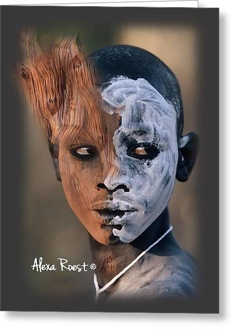 Africa Pure 9 Greeting Card by Alexa Roest