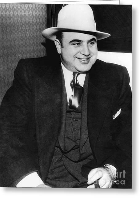 Al Capone Greeting Card by American School