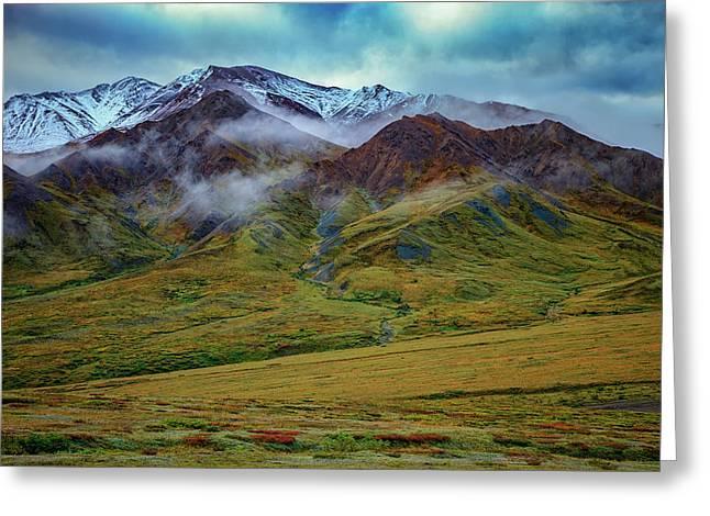 Alaskan Foothills Greeting Card by Rick Berk