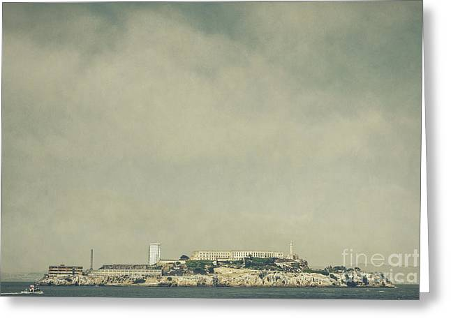 Alcatraz Greeting Card by Andrew Paranavitana